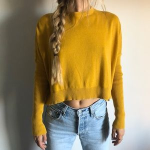 Mustard urban outfitters sweater. XS